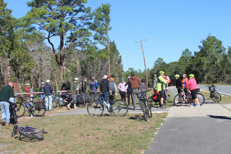 Blooms for Bikes - Ochlockonee Bay Bike Trail